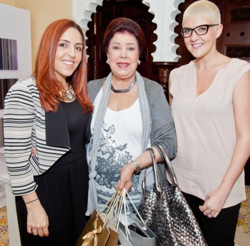 Nahla Rafih, Ragaa el Gedawy & Yasemin Richie