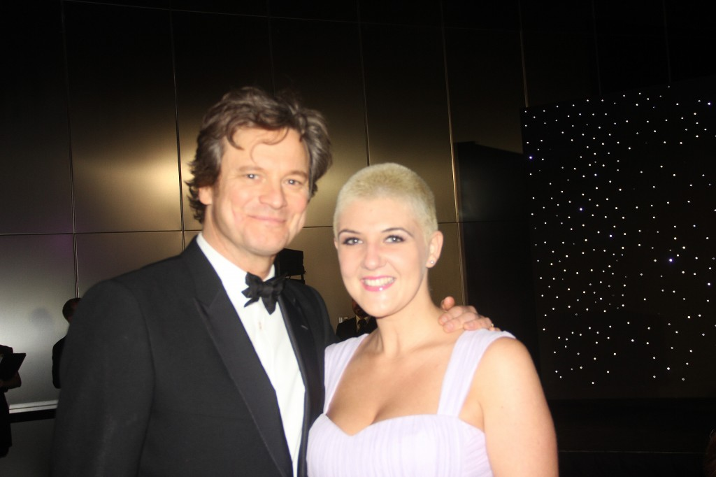 Colin Firth & Yasemin Richie at the Oxfam DIFF 2012 charity gala