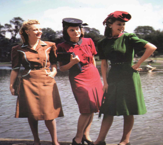 British Fashion 1940's