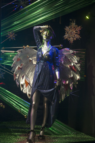 Harvey Nichols Christmas Window Display