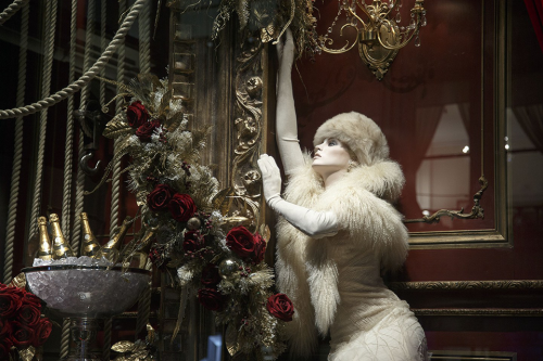 Ralph Lauren Christmas Window Display