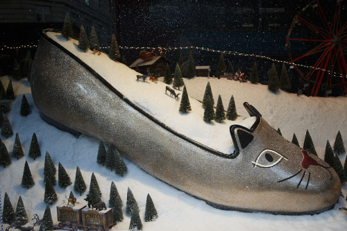 Selfridges Christmas Window Display