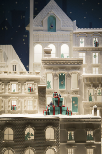 Tiffany & Co. Christmas Window Display